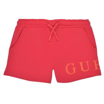 Textiel Meisjes Korte broeken / Bermuda's Guess K1GD08-KAN00-C448 Roze