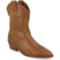Schoenen Dames Enkellaarzen Buonarotti 1A-0339 Camel