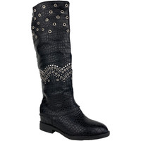 Schoenen Dames Hoge laarzen H&d M929-23 Negro