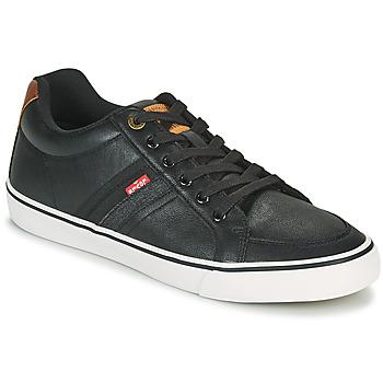 Schoenen Heren Lage sneakers Levi's TURNER Zwart