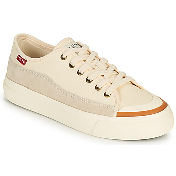 Schoenen Dames Lage sneakers Levi's SQUARE LOW S Wit