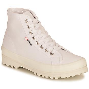 Schoenen Dames Hoge sneakers Superga 2341 ALPINA COTU Wit