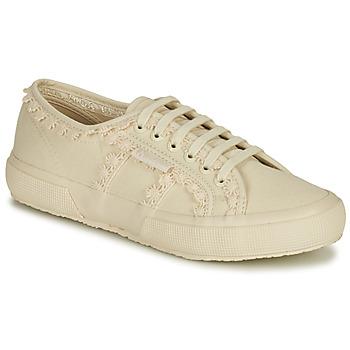 Schoenen Dames Lage sneakers Superga 2750 COTW LACEPIPING Beige