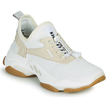 Schoenen Dames Lage sneakers Steve Madden MATCH Wit / Beige
