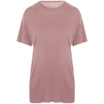 Textiel Heren T-shirts & Polo's Ecologie EA002 Stoffig Roze