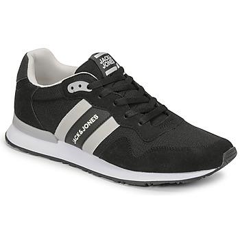 Schoenen Heren Lage sneakers Jack & Jones JFW STELLAR MESH 2.0 Zwart / Wit