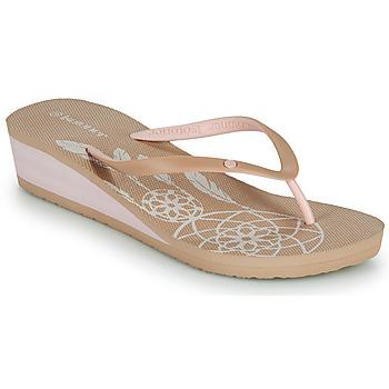 Schoenen Dames Slippers Isotoner FRADA Beige