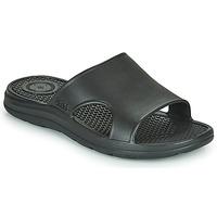 Schoenen Heren Slippers Isotoner MONA Zwart