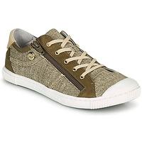 Schoenen Dames Lage sneakers Pataugas BOMY F2G Goud / Kaki