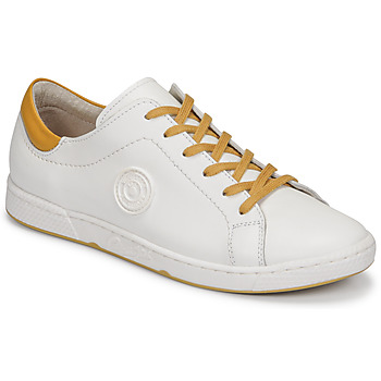 Schoenen Dames Lage sneakers Pataugas JAYO F2G Wit / Ocre