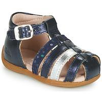 Schoenen Meisjes Sandalen / Open schoenen Aster OFILIE Marine