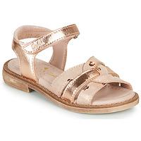 Schoenen Meisjes Sandalen / Open schoenen Aster TAWA Roze