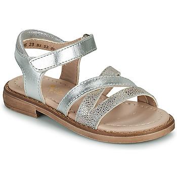 Schoenen Meisjes Sandalen / Open schoenen Aster TESSIA Zilver