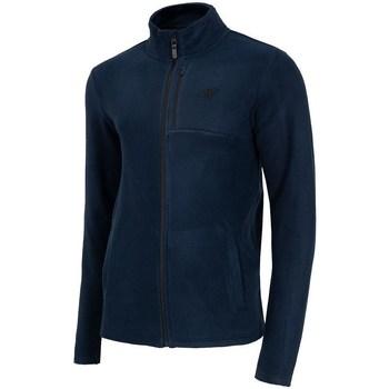 Textiel Heren Fleece 4F PLM003 Bleu marine
