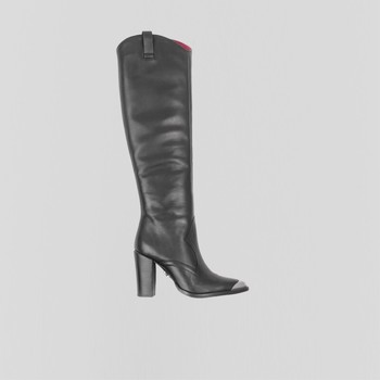 Schoenen Dames Hoge laarzen Bronx Bottes femme  New-Americana noir