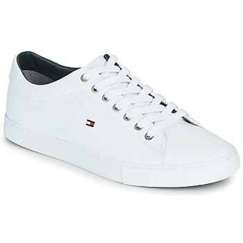 Schoenen Heren Lage sneakers Tommy Hilfiger ESSENTIAL LEATHER SNEAKER Wit