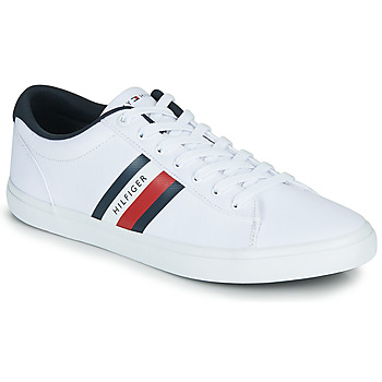 Schoenen Heren Lage sneakers Tommy Hilfiger ESSENTIAL STRIPES DETAIL SNEAKER Wit