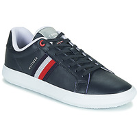 Schoenen Heren Lage sneakers Tommy Hilfiger ESSENTIAL LEATHER CUPSOLE Marine