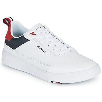Schoenen Heren Lage sneakers Tommy Hilfiger MODERN CUPSOLE LEATHER Wit
