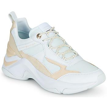Schoenen Dames Lage sneakers Tommy Hilfiger FASHION WEDGE SNEAKER Wit