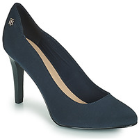 Schoenen Dames pumps Tommy Hilfiger TOMMY ESSENTIAL HIGH HEEL PUMP Marine