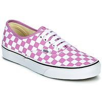 Schoenen Dames Lage sneakers Vans AUTHENTIC  lilas