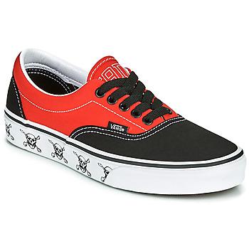 Schoenen Lage sneakers Vans ERA Zwart / Rood
