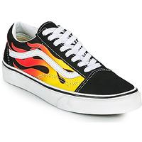 Schoenen Lage sneakers Vans OLD SKOOL Zwart / Orange