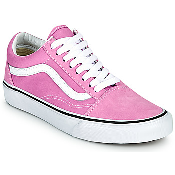 Schoenen Dames Lage sneakers Vans OLD SKOOL  lilas