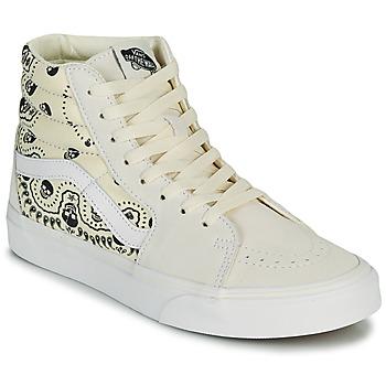 Schoenen Hoge sneakers Vans SK8 HI Beige / Zwart