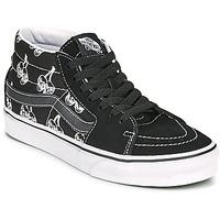 Schoenen Hoge sneakers Vans SK8 MID Zwart / Wit