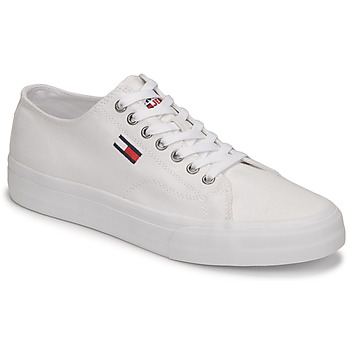 Schoenen Heren Lage sneakers Tommy Jeans LONG LACE UP VULC Wit