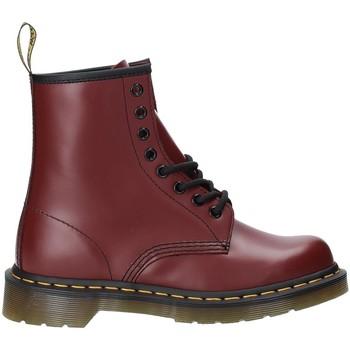 Schoenen Dames Enkellaarzen Dr Martens DMS1460CRSM10072600 Rood