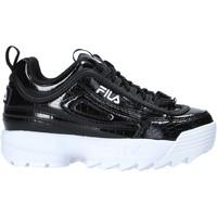 Schoenen Kinderen Sneakers Fila 1011081 Zwart