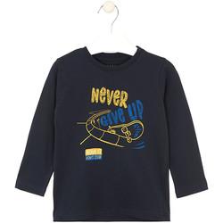 Textiel Kinderen T-shirts & Polo's Losan 025-1635AL Blauw