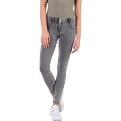 Textiel Dames Broeken / Pantalons Freddy WRUP1RC003 Grijs