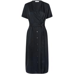 Textiel Dames Jurken Calvin Klein Jeans K20K202182 Zwart
