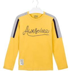 Textiel Kinderen T-shirts & Polo's Losan 023-1008AL Geel