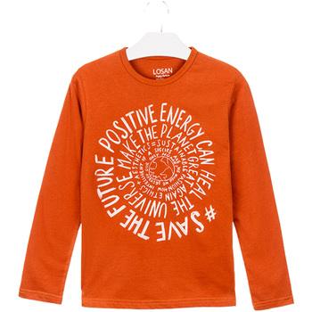 Textiel Kinderen T-shirts & Polo's Losan 023-1013AL Oranje