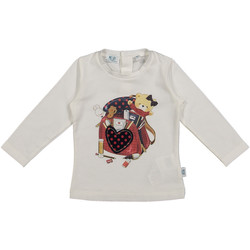 Textiel Kinderen T-shirts & Polo's Melby 20C0361 Wit