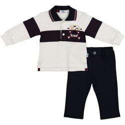 Textiel Kinderen Anzüge und Krawatte Melby 20K0230 Blauw