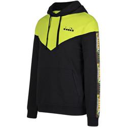 Textiel Heren Sweaters / Sweatshirts Diadora 502176426 Noir