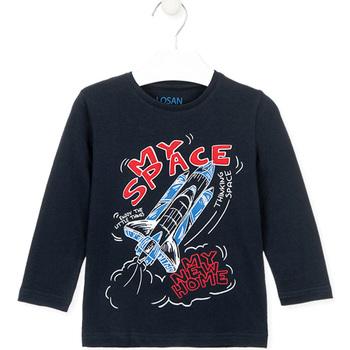 Textiel Kinderen T-shirts & Polo's Losan 025-1201AL Blauw