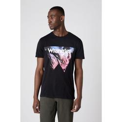 Textiel Heren T-shirts & Polo's Wrangler T-shirt  Cowboy Cool noir