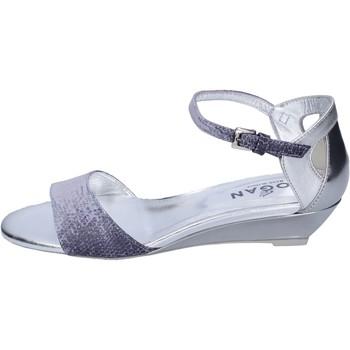 Schoenen Dames Sandalen / Open schoenen Hogan BK661 Bleu