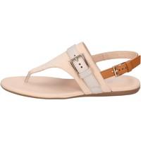 Schoenen Dames Sandalen / Open schoenen Hogan BK664 Beige