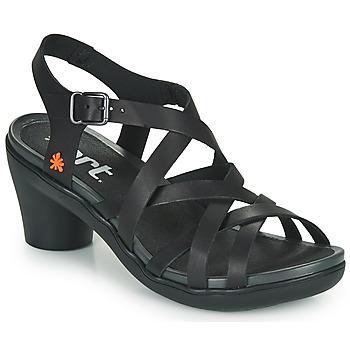 Schoenen Dames Sandalen / Open schoenen Art ALFAMA Zwart