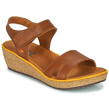 Schoenen Dames Sandalen / Open schoenen Art CAPRI Brown