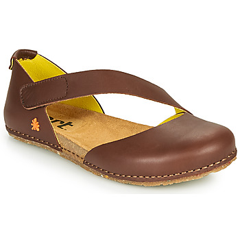Schoenen Dames Ballerina's Art CRETA Brown