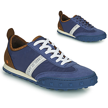 Schoenen Heren Lage sneakers Art CROSS SKY Blauw / Brown
